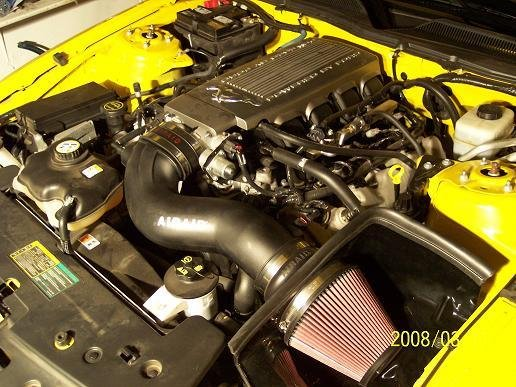 2005 To 2008 Mustang Gt Cold Air Intake And Programmer