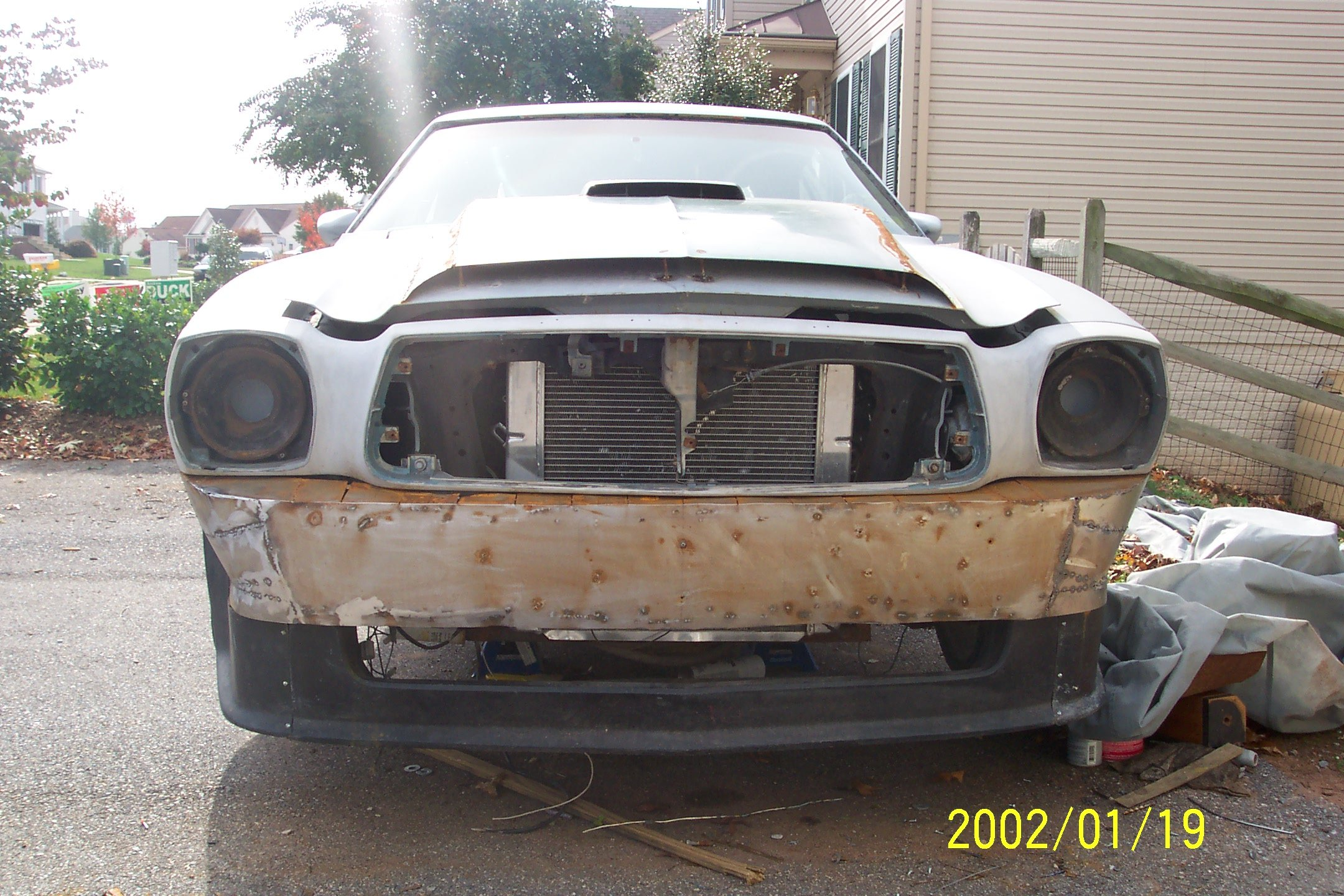 Mustang II bumper fab complete - Ford Mustang Forum