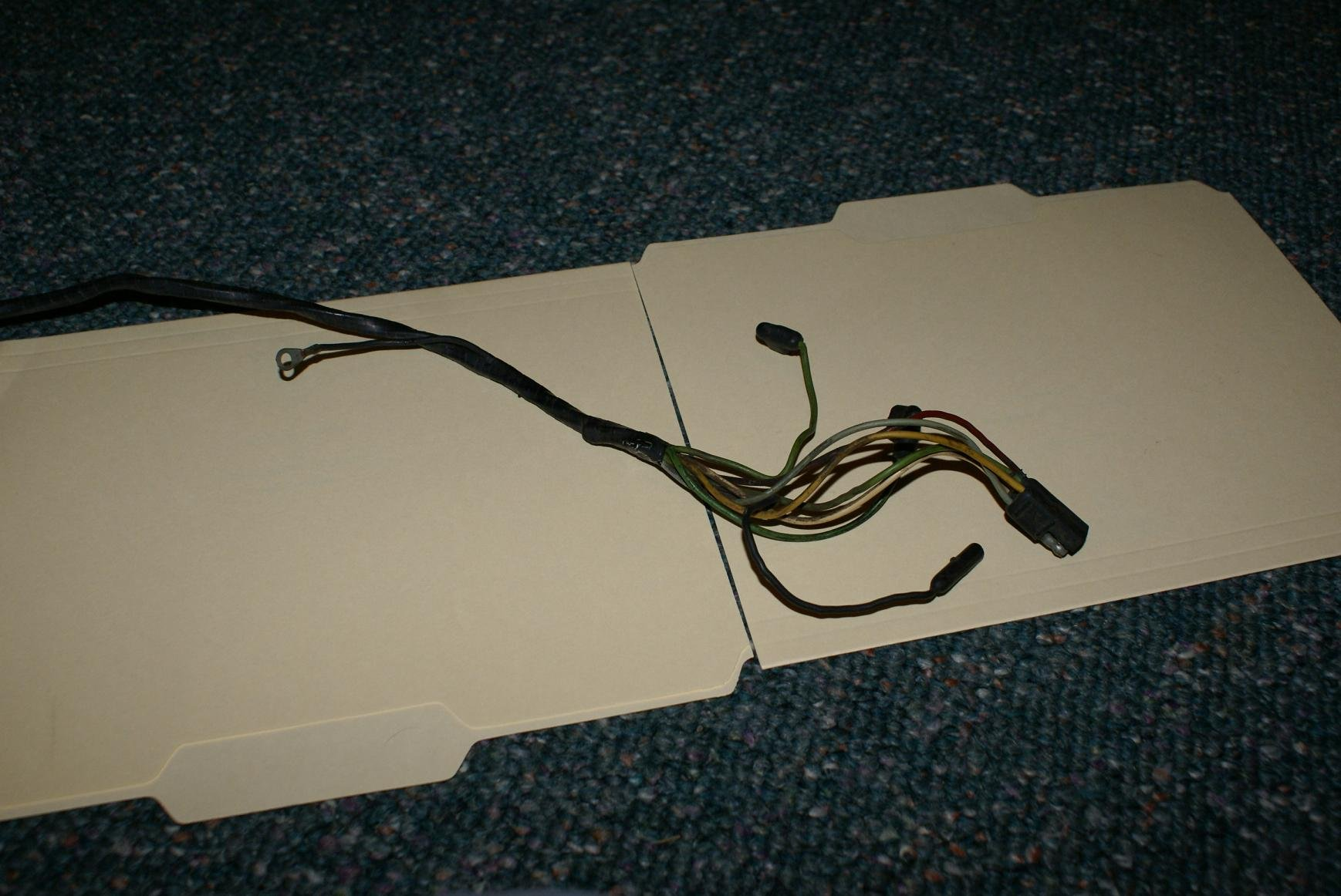 Two-speed Wiper Motor Harness For 1966 Mustang