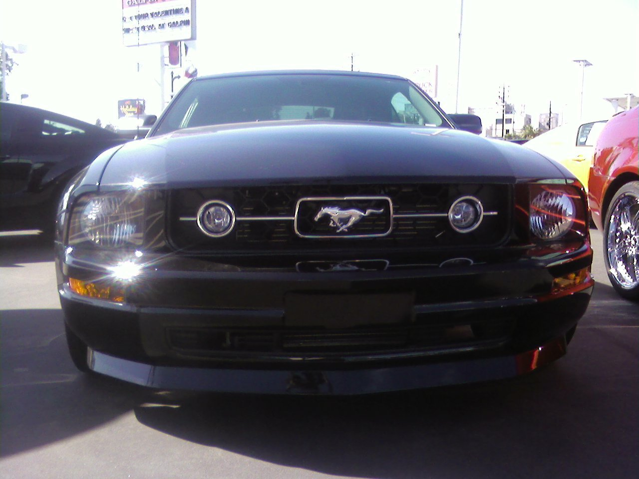 Mustang V6 Front Lip Ford Mustang Forum