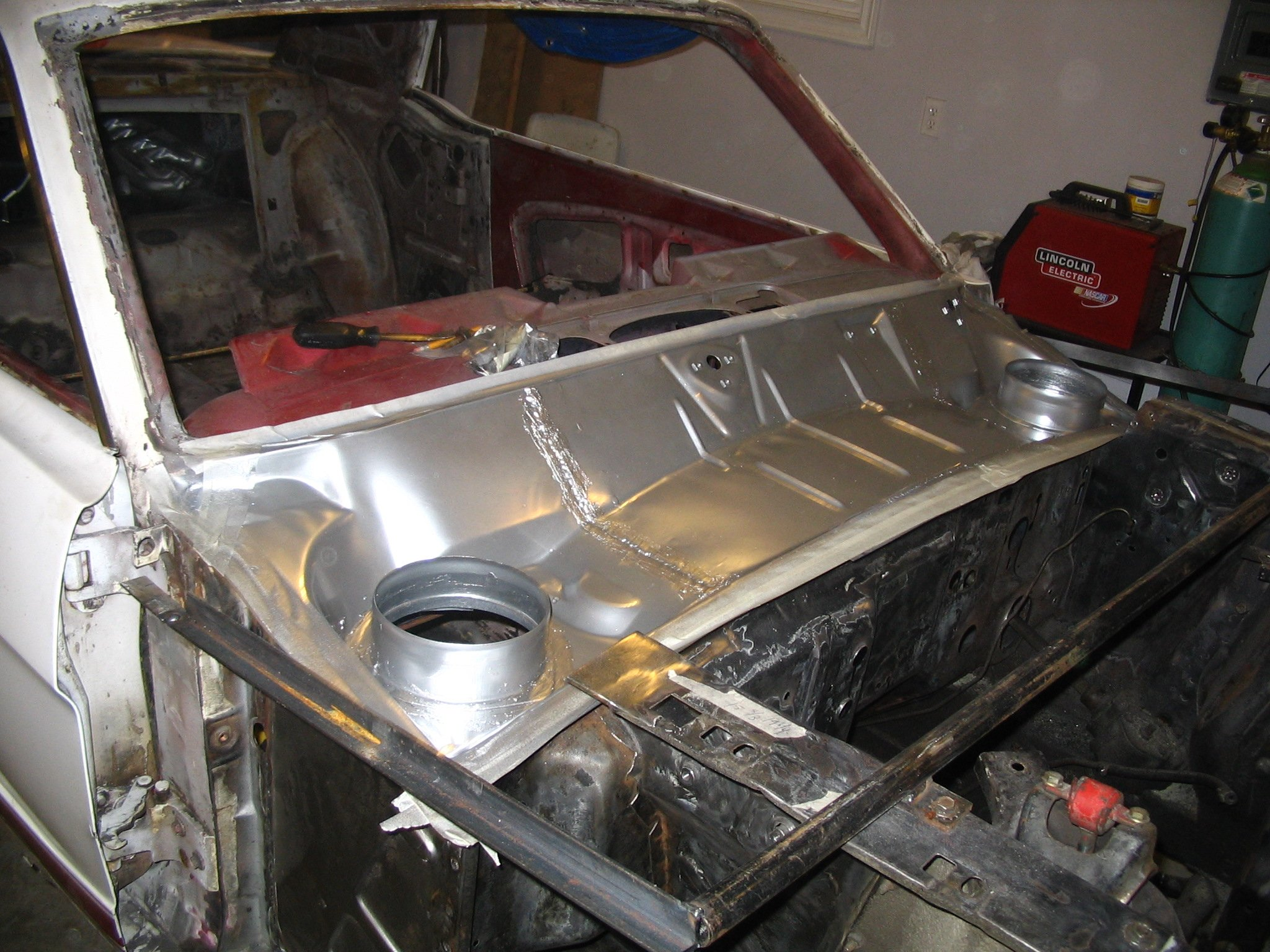 Yet another cowl repair question ford mustang forum