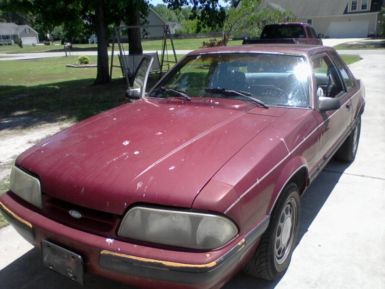 My First Car 87 Lx Notch Is Mine Once Again Ford