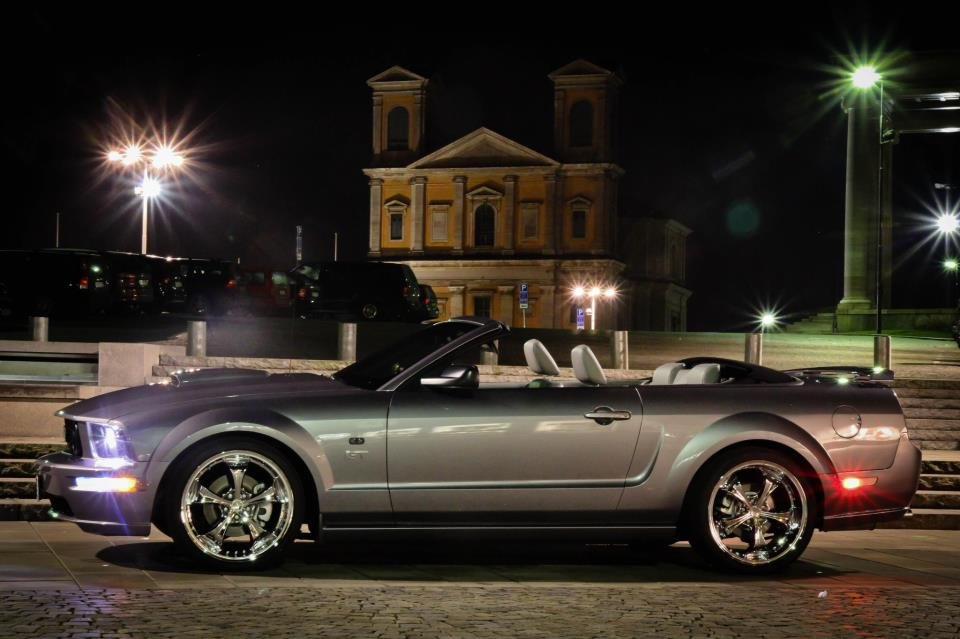 Bmw M3 Convertible >> 20 Inch wheel on 2006 Mustang - Ford Mustang Forum