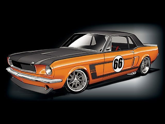 Street Fighter 1966 Ford Mustang Ford Mustang Forum