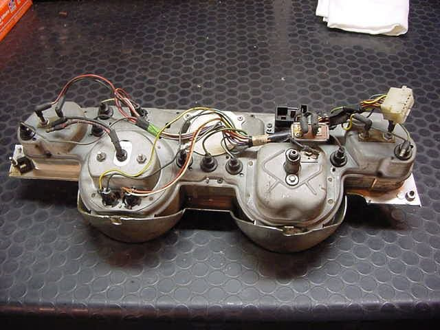 1967 mustang instrument panel wiring pics | ford mustang forum  all ford mustangs