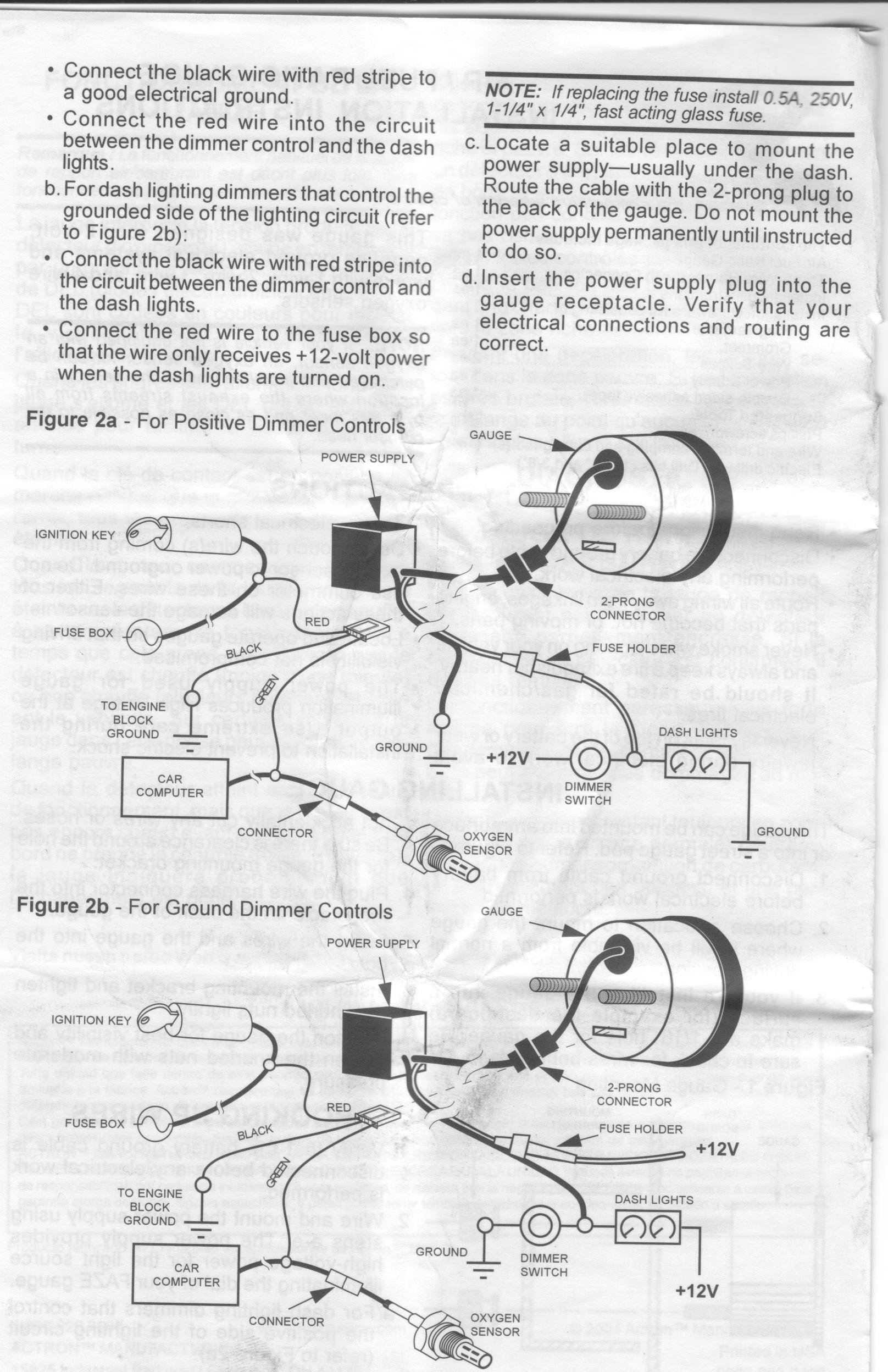 Sunpro Fuel Gauge Wiring Diagram 32 Images Pro Comp Harness Gallery