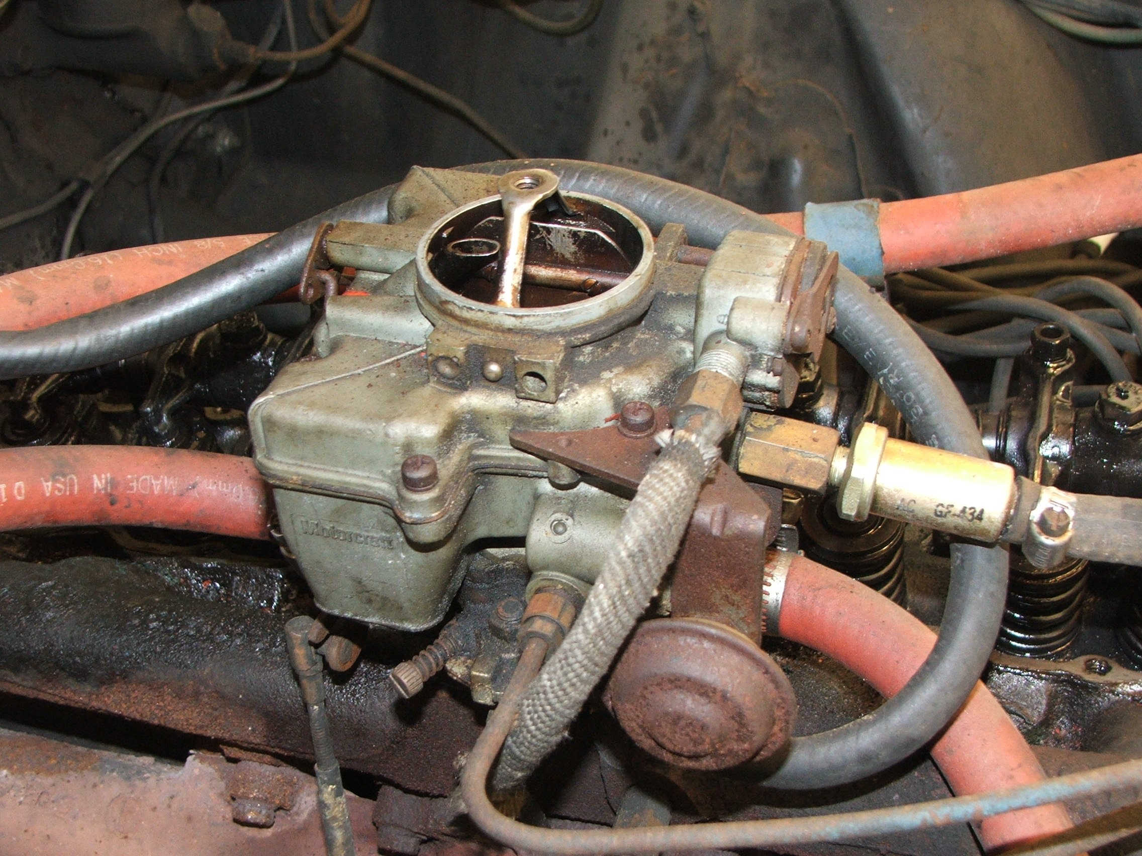 Holley Model 1940 Carburetor http://www.allfordmustangs.com/forums/classic-tech/158542-what-model-1-barrel.html