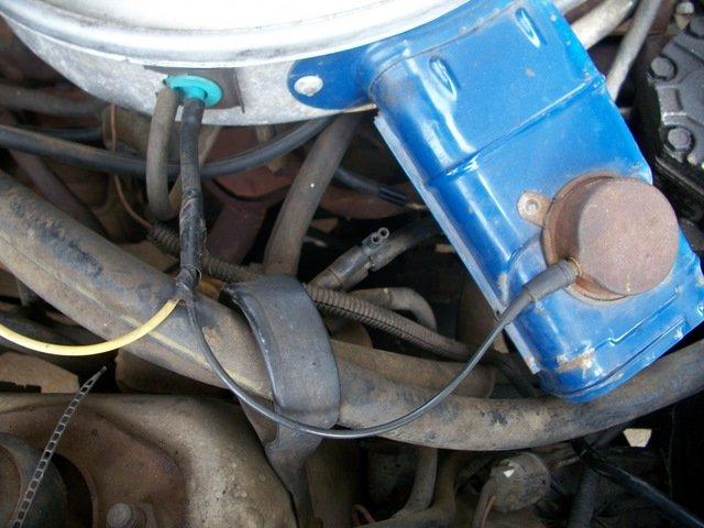 1979 Mustang Vacuum Hose Disaster