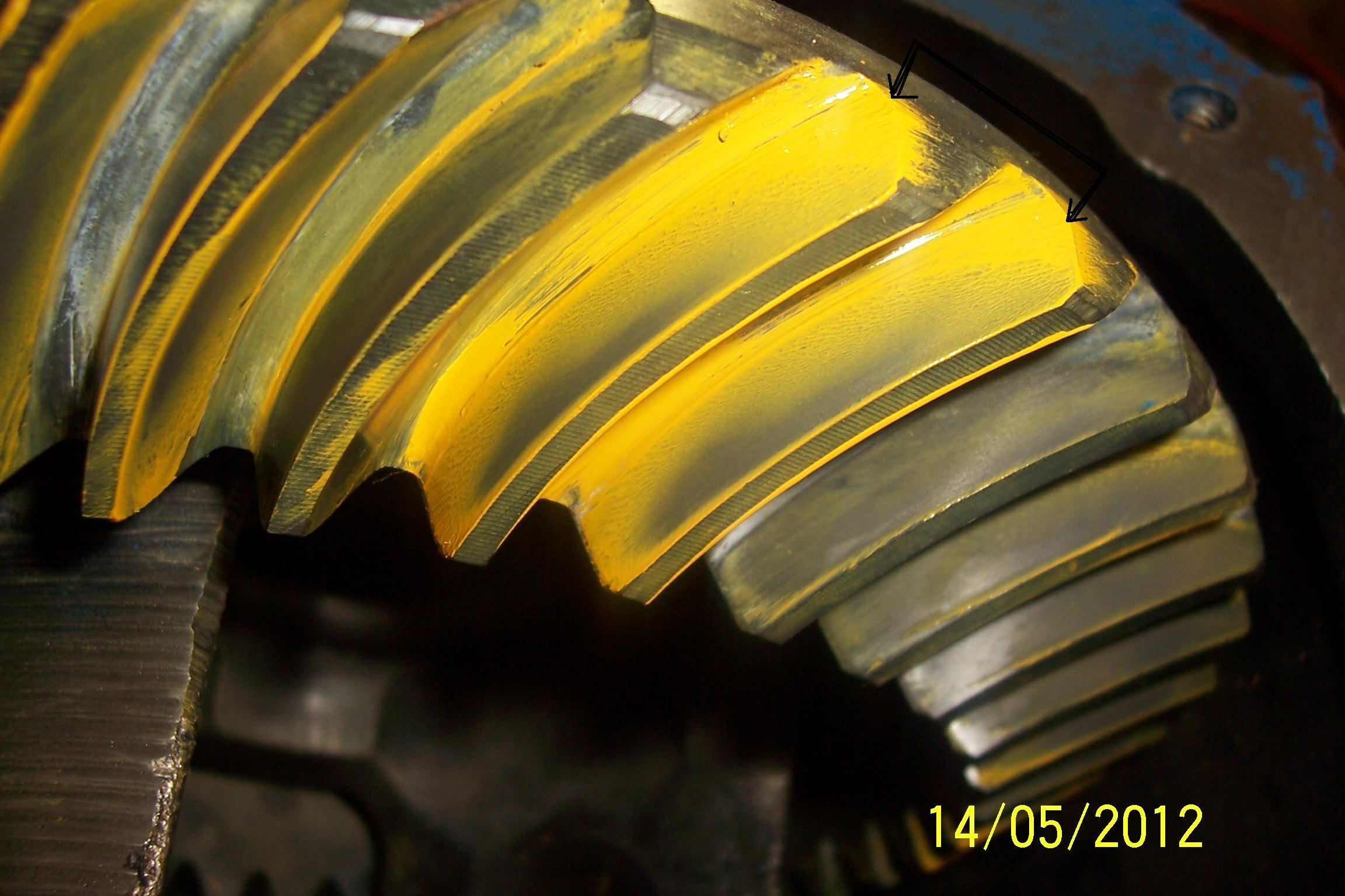 Help With Ring And Pinion Gear Pattern Ford Mustang Forum