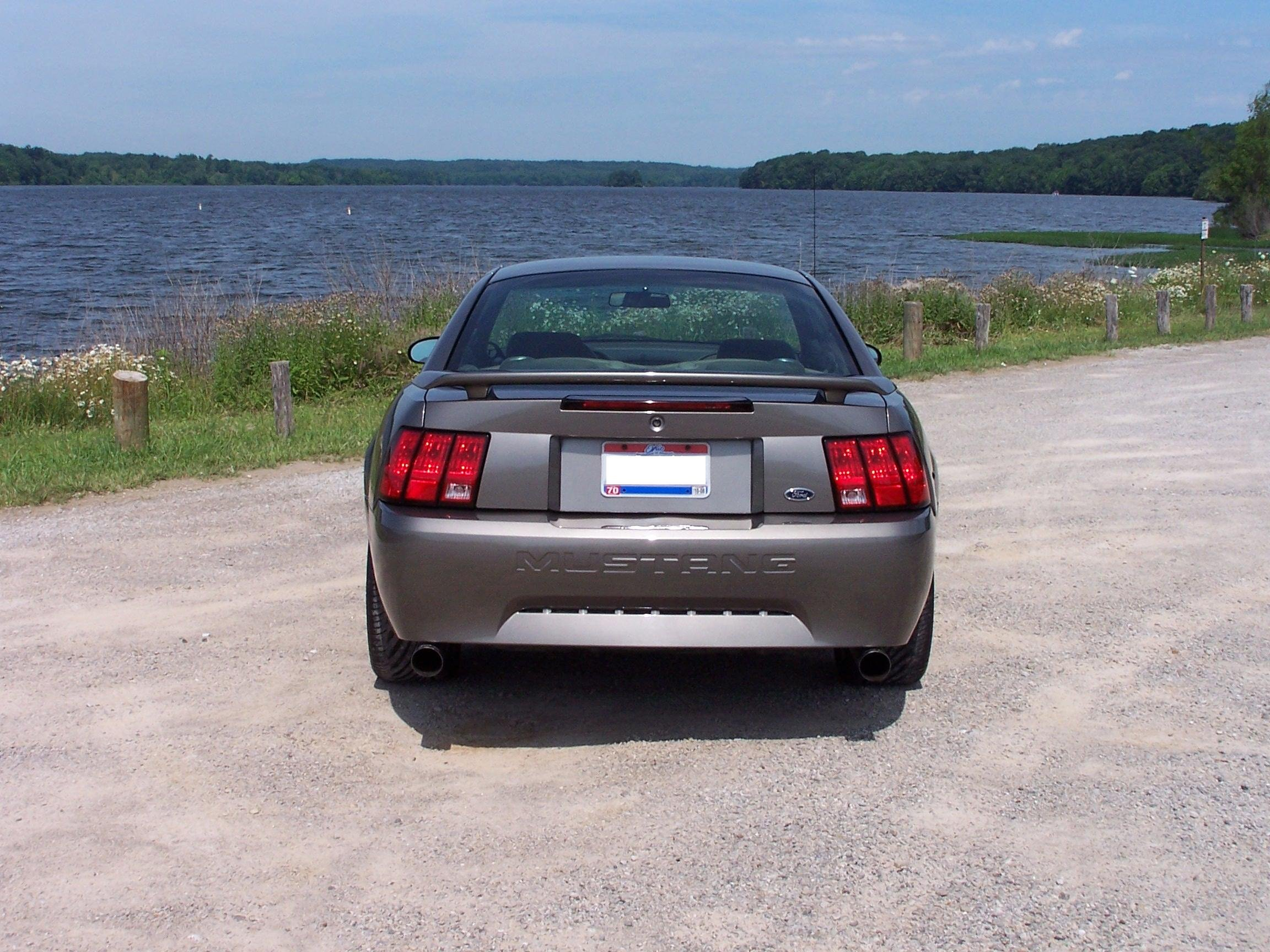 2001 V6 Mustang Exhaust And Bumper Ford Mustang Forum