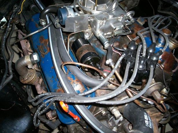 1966 Mustang 289 Vacuum Line Autolite 2100 2 V Ford