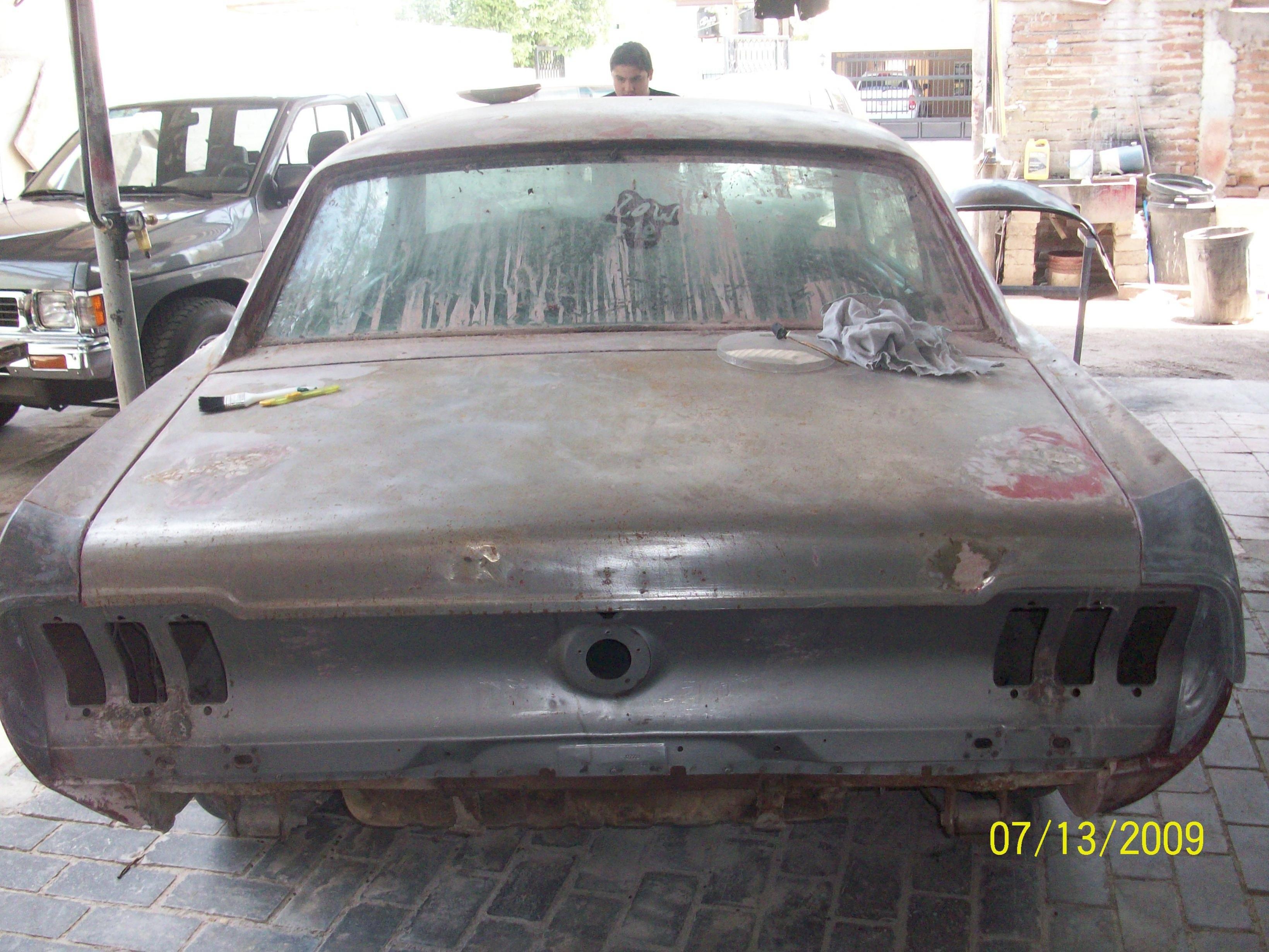 Restauraci 243 N De 1967 Coupe Mustang Ford Mustang Forum