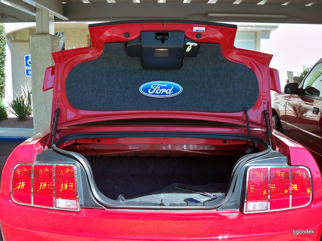 Made Own Trunk Lid Mat Ford Mustang Forum