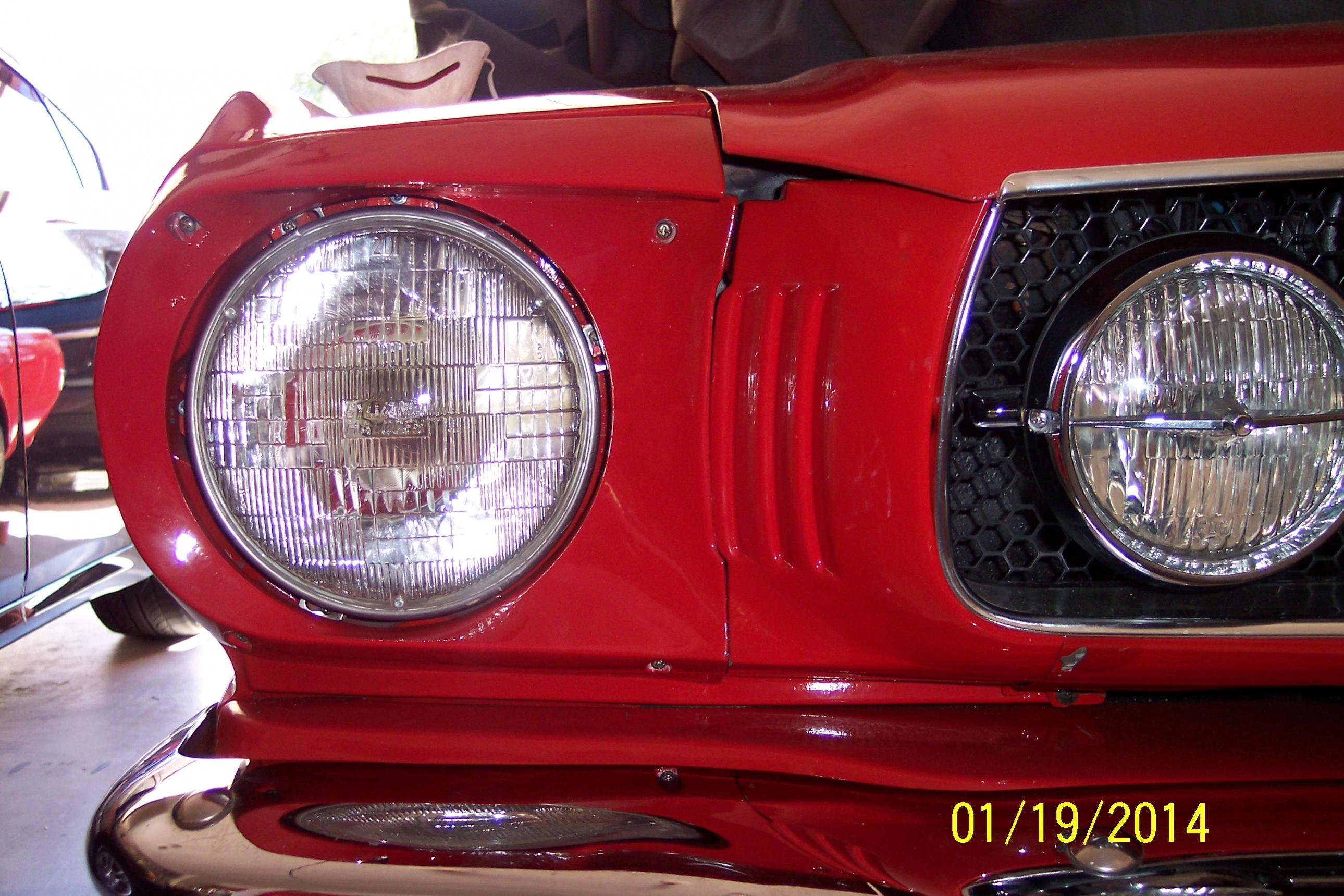 Hood Amp Headlight Door Alignment Question Ford Mustang Forum