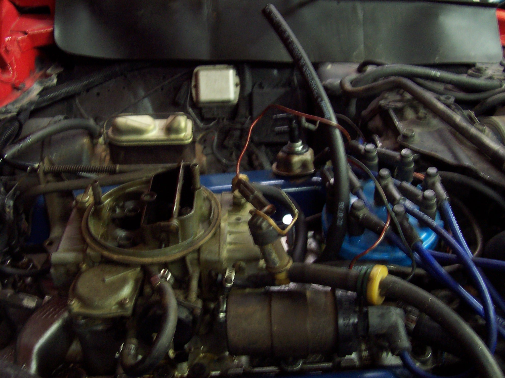 1978 Mustang Hose Hookups  And Vacuum Hose Hookup Issues