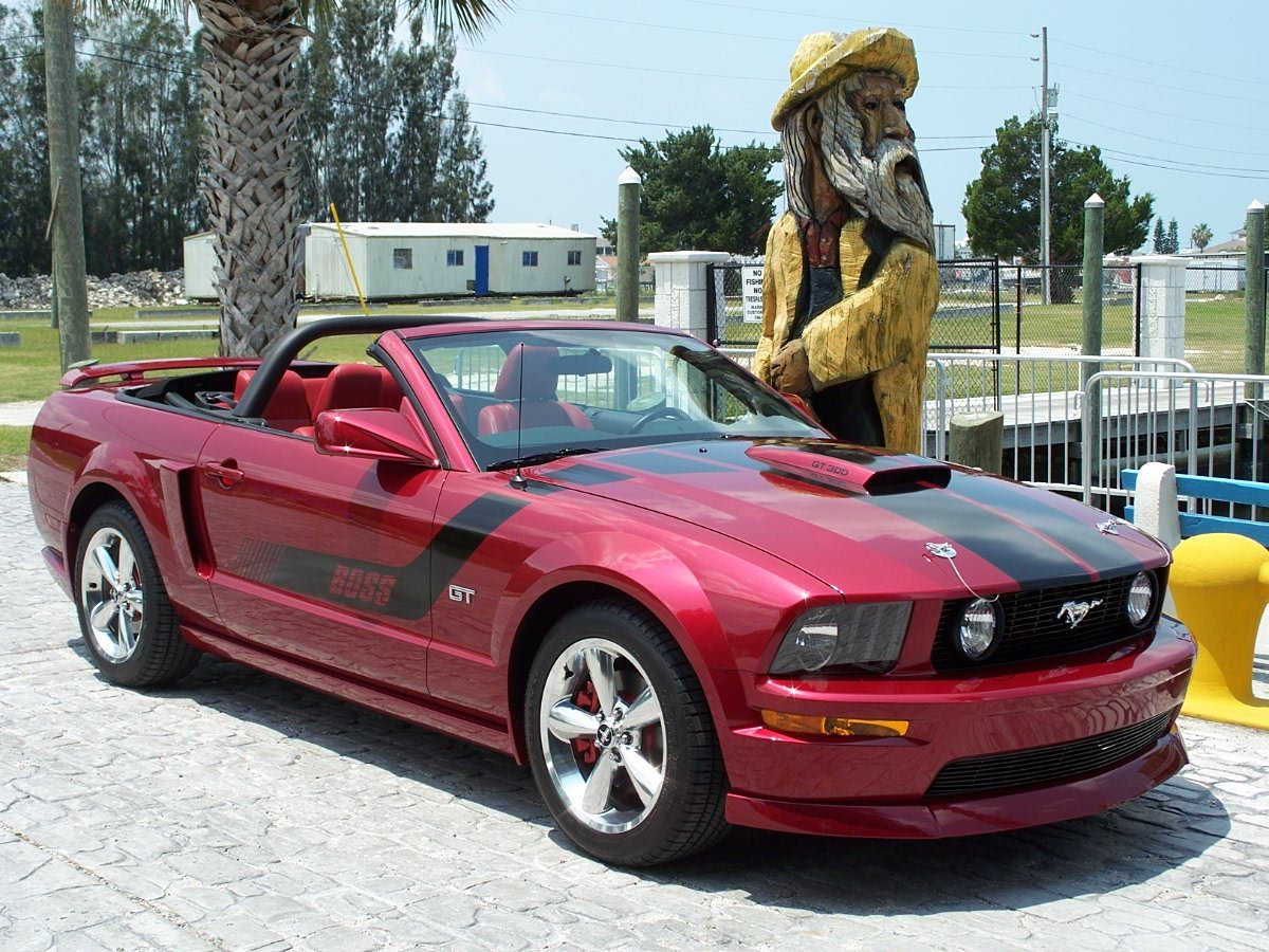 2005 Ford Mustang Coupe >> side scoops on 2007 Mustang convertible - Page 4 - Ford ...