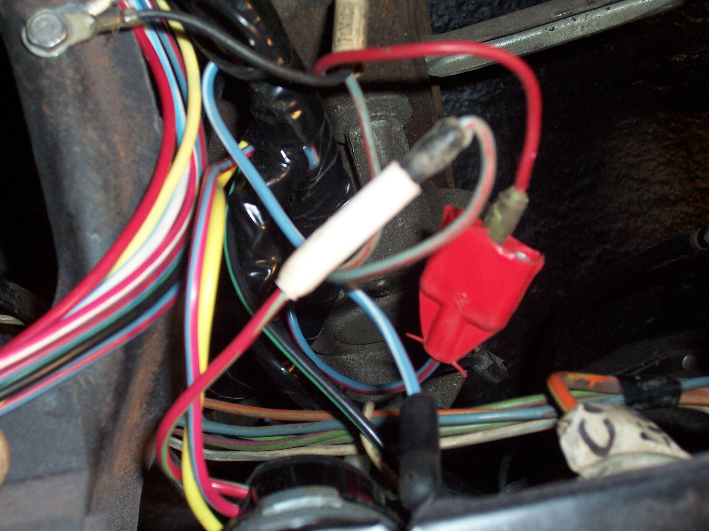 66 Mustang Fastback Electrical Question  4