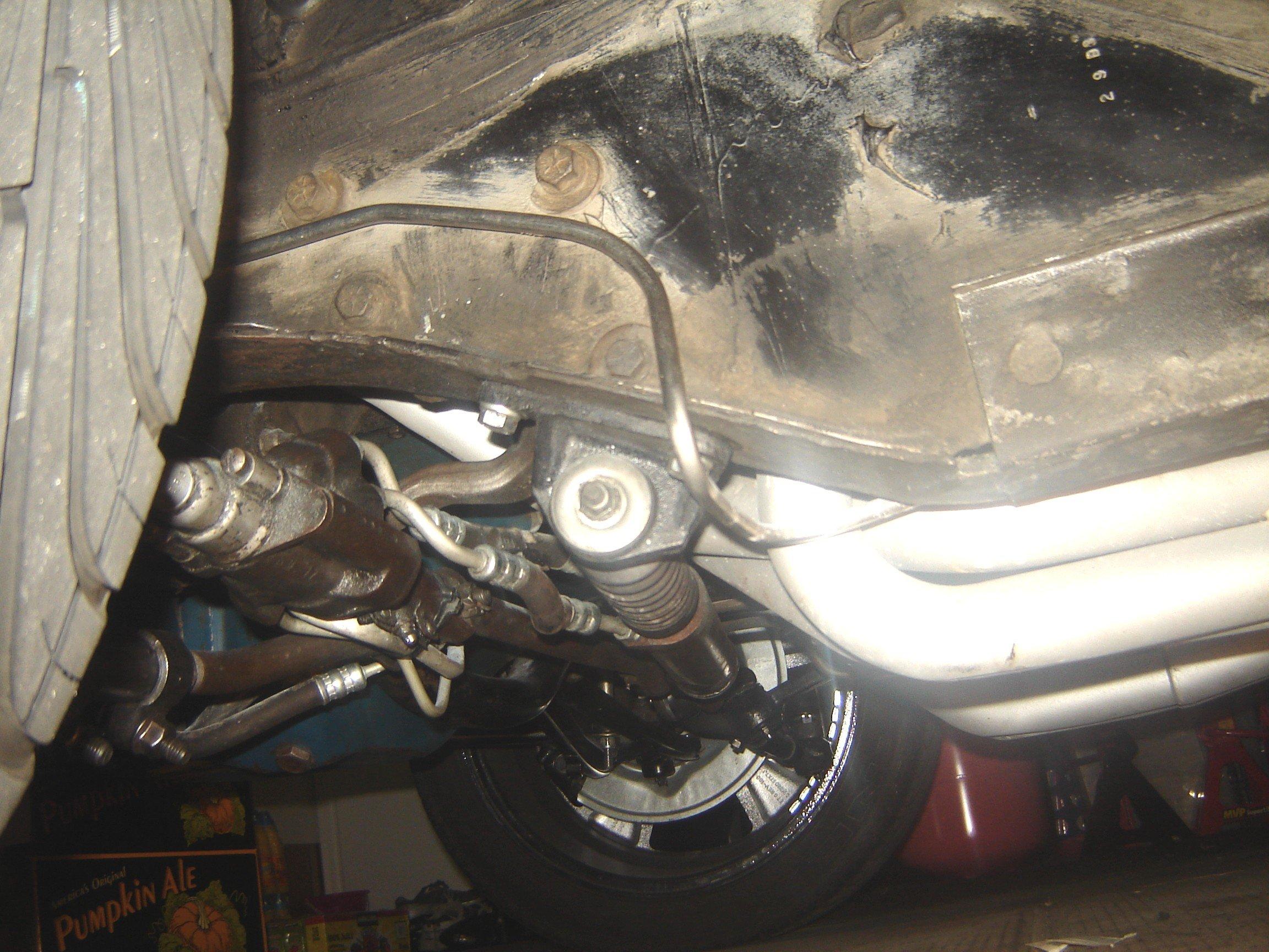 Power steering bracket installation 1966 mustang 102210 jpg