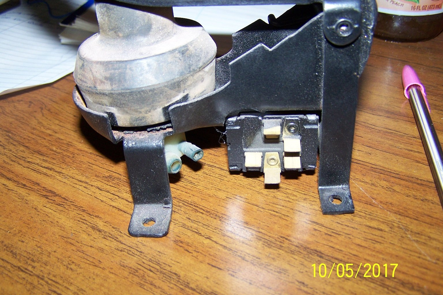 1964 1 2 Mustang Washer Foot Pump Wiring Ford Mustang Forum