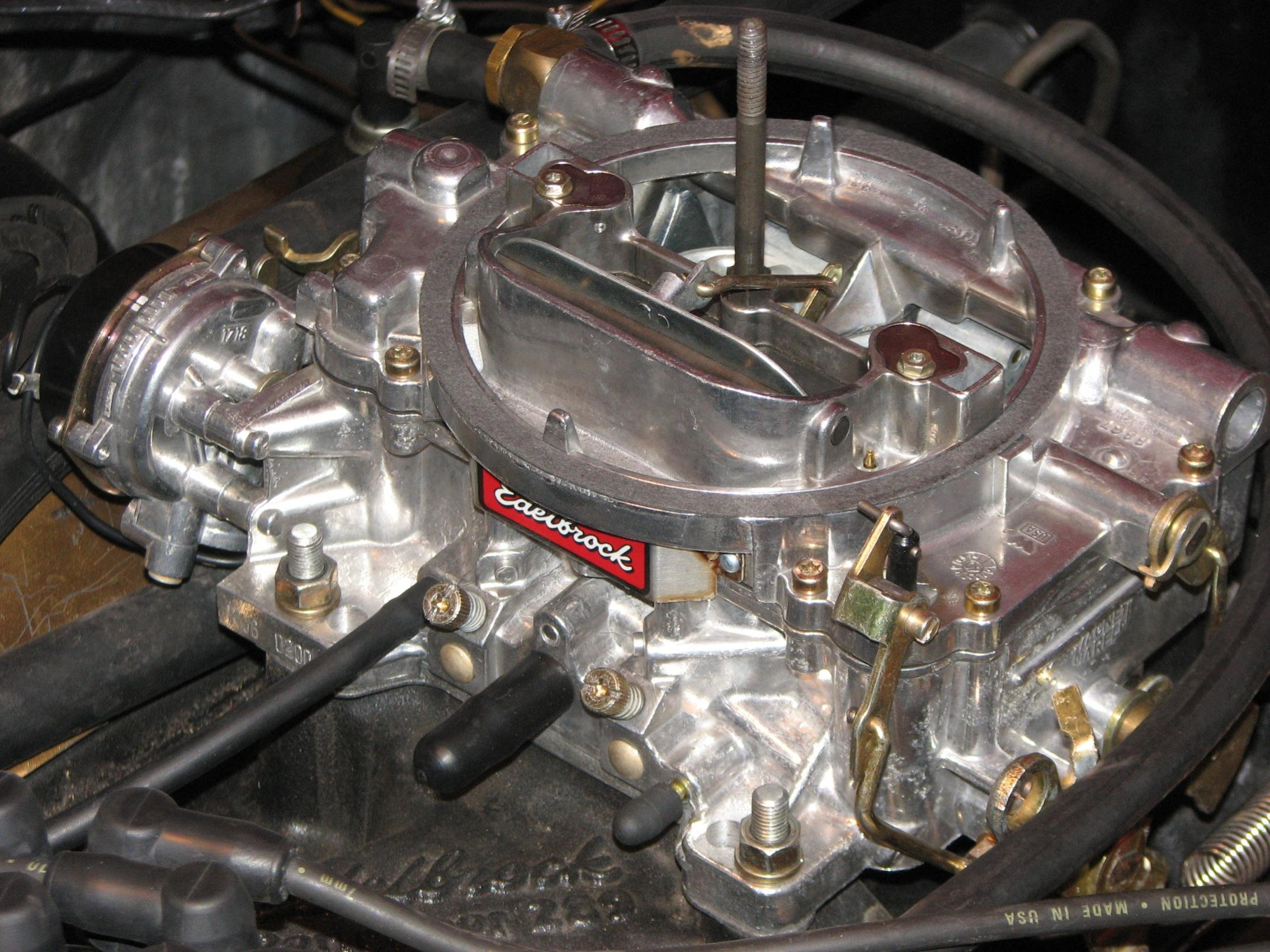 Need help with Edelbrock 1406 Carb - Ford Mustang Forum
