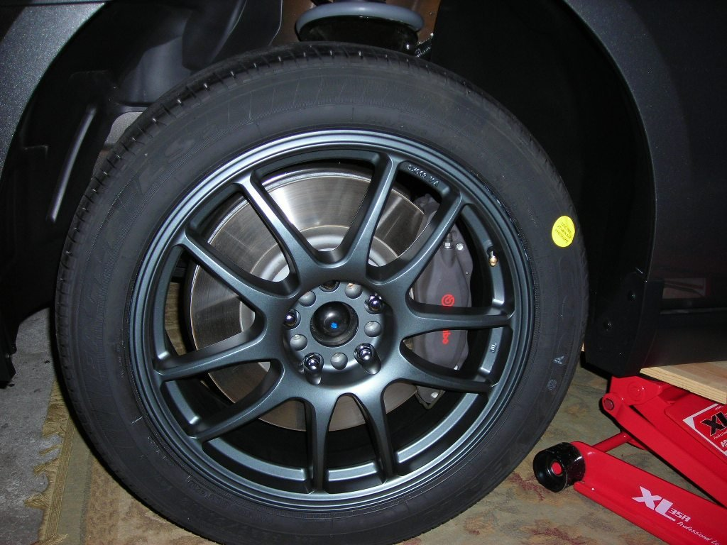 What color are the Bremen calipers on a 2014 GT - The Mustang ...