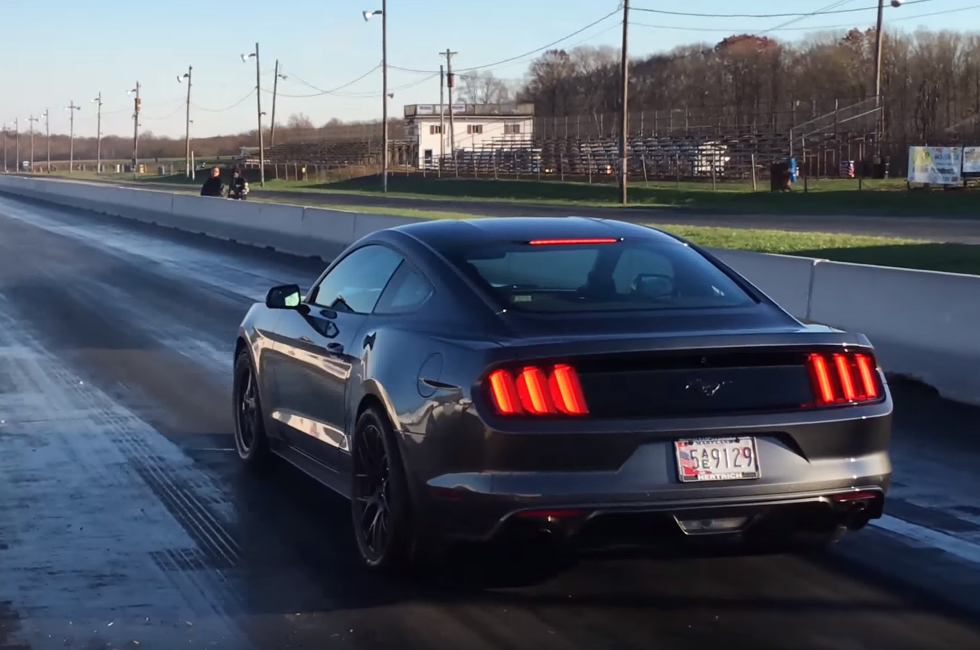 This EcoBoost Mustang Will Take Your GT350 in the Quarter Mile