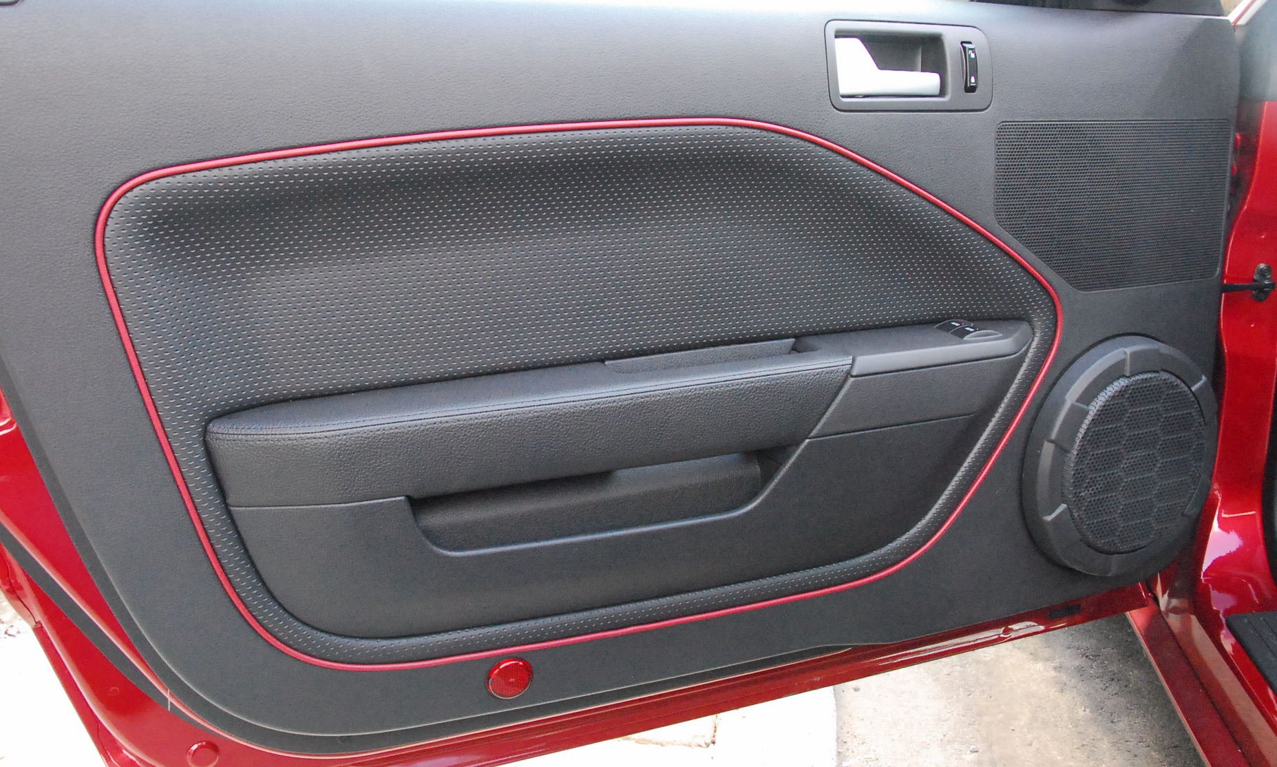 deluxe axd panels emblems burton insert panel inserts door thumbnail pair mustang l interior cups