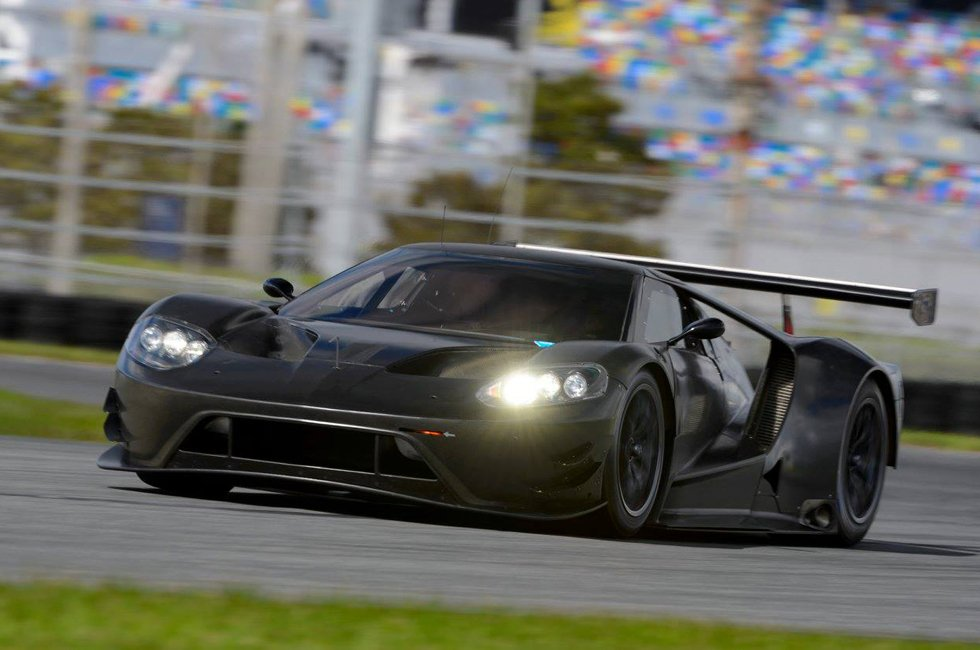 Ford GT First Test at Daytona
