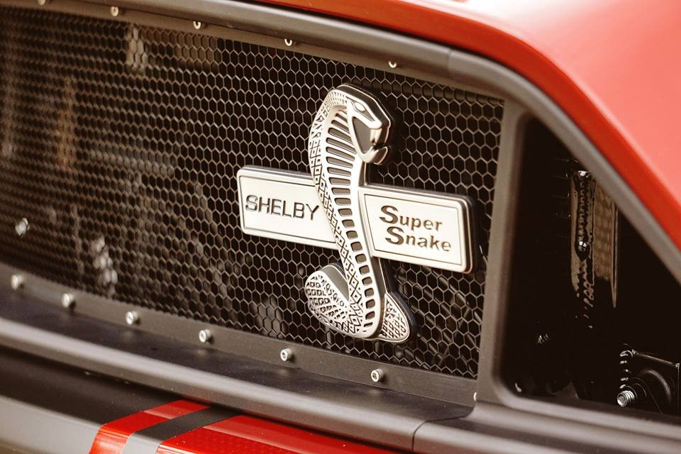 The Shelby Super Snake Now Slithers in Australia