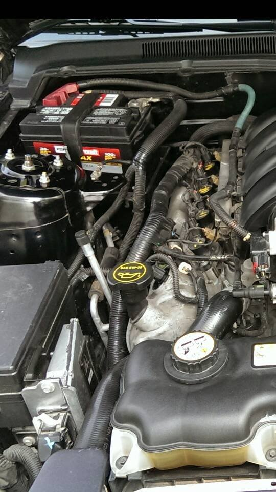 New 2007 Mustang Battery Died Did An Exposed Wire Cause