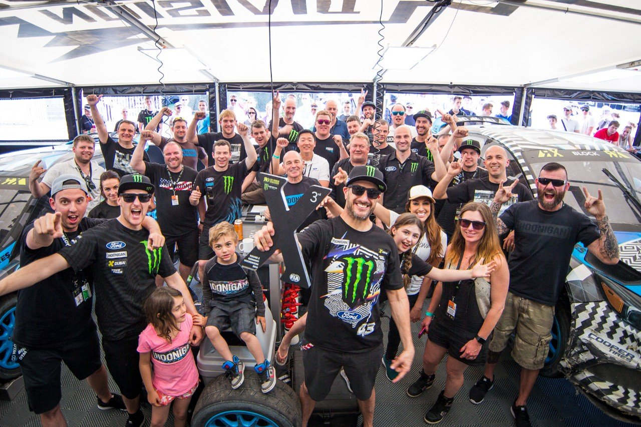 Ken Block and the Focus RS RX Take First Rallycross Podium!