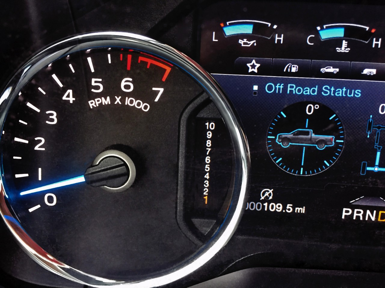 Could the Mustang Get the F-150's 10-Speed Counting Cluster?