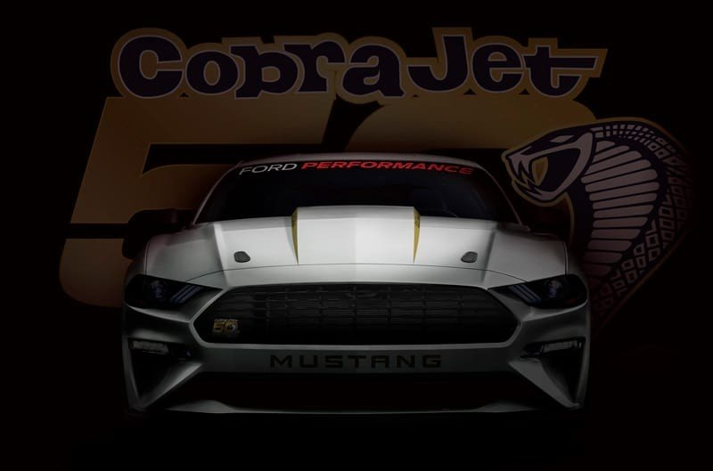Ford Teases Drag-Ready Mustang Cobra Jet, Dodge Demon Beware