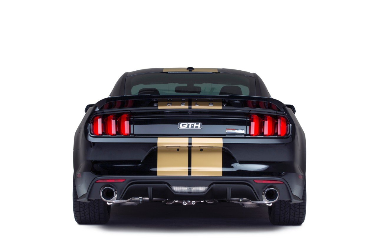 The Shelby Rent-A-Racer Mustang is Back, in Black Obviously