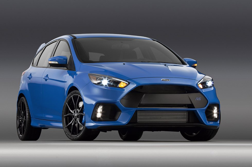 Ford Just Gave the Focus RS 350-HP