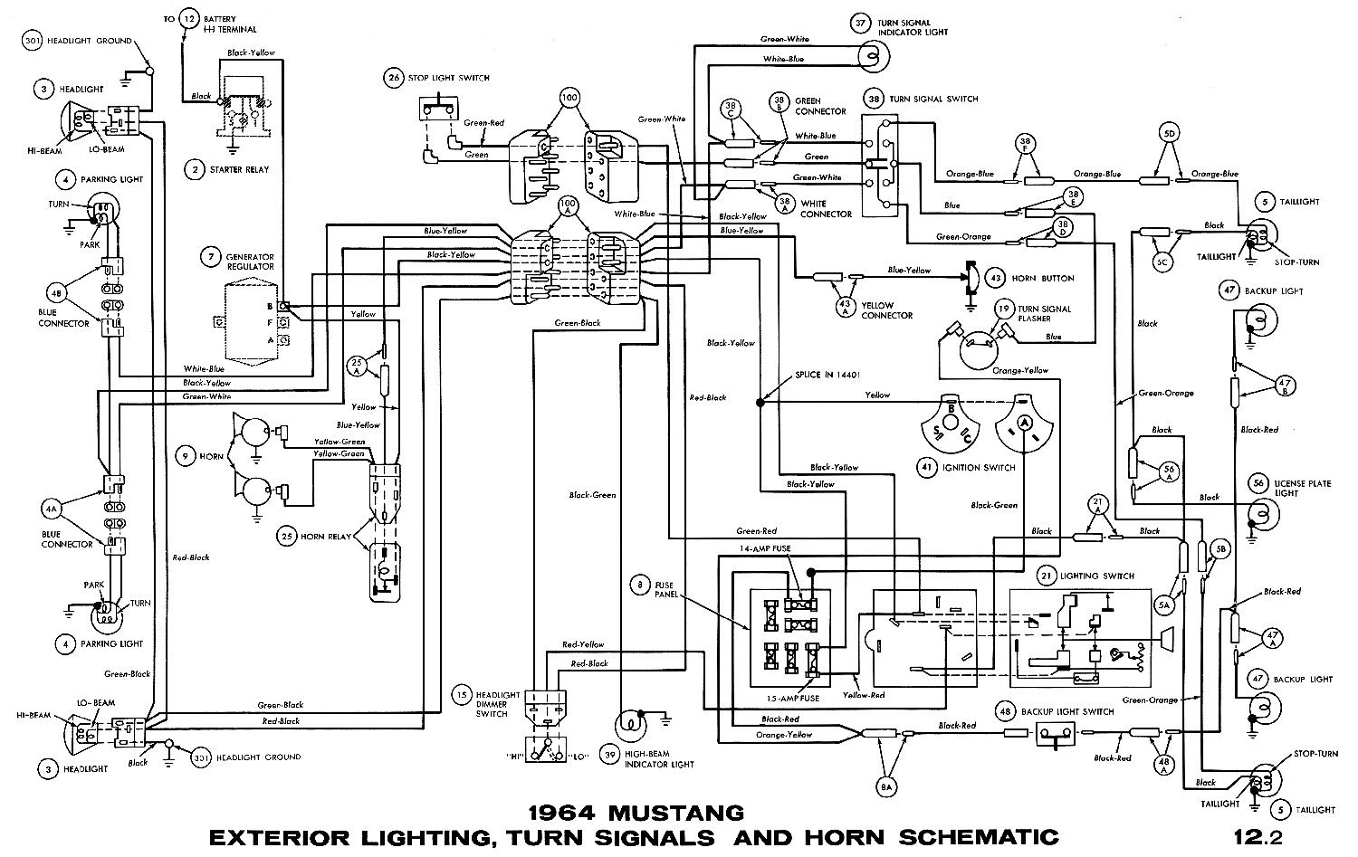 [SCHEMATICS_4HG]  Horn works but not really | Ford Mustang Forum | 1989 Ford Mustang Horn Wiring Diagram |  | All Ford Mustangs