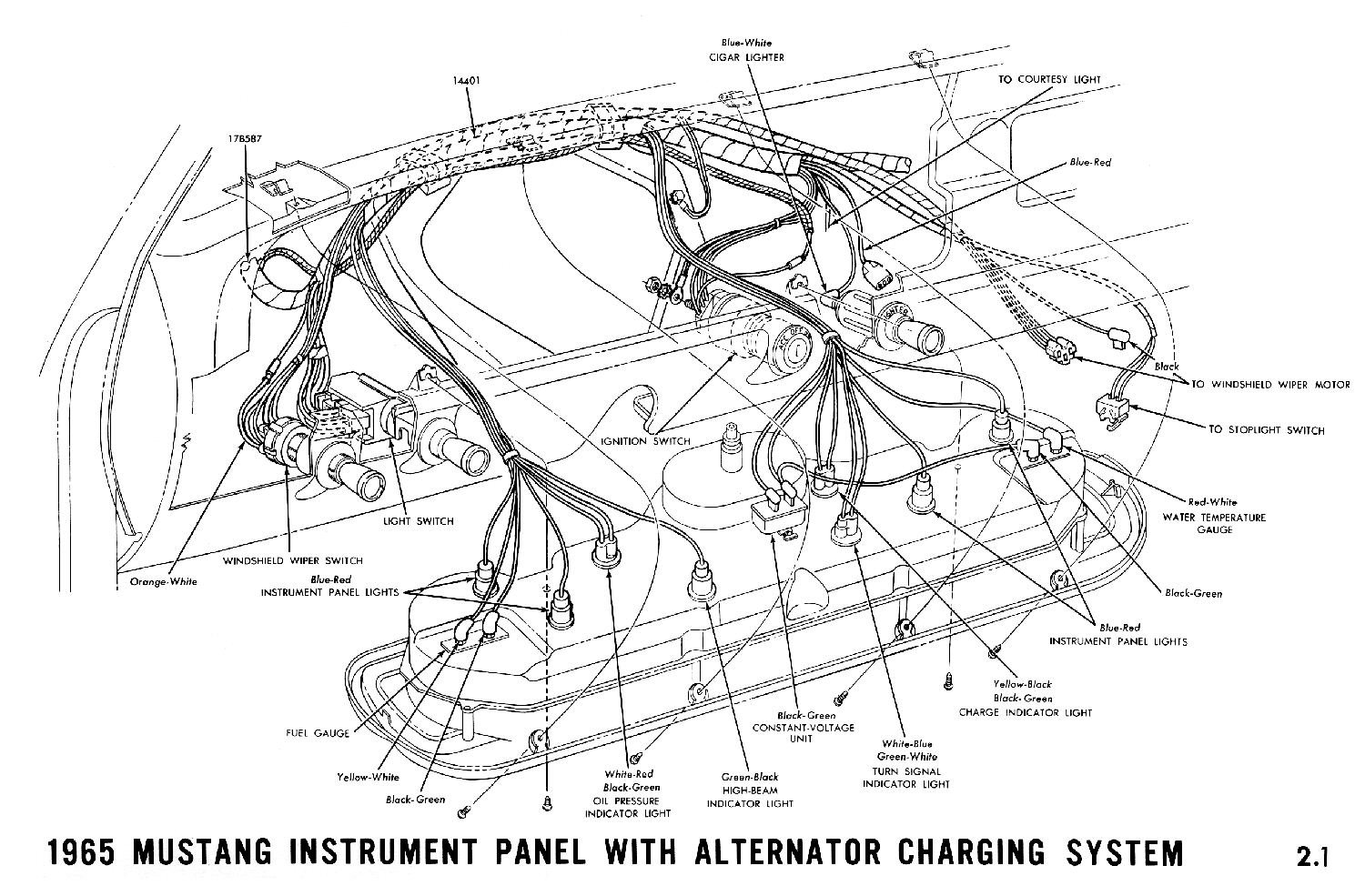 fuse block on a 1965 mustang coupe - ford mustang forum wiring diagram for dash gauges 69 w30 wiring diagram for mercury outboard gauges #15