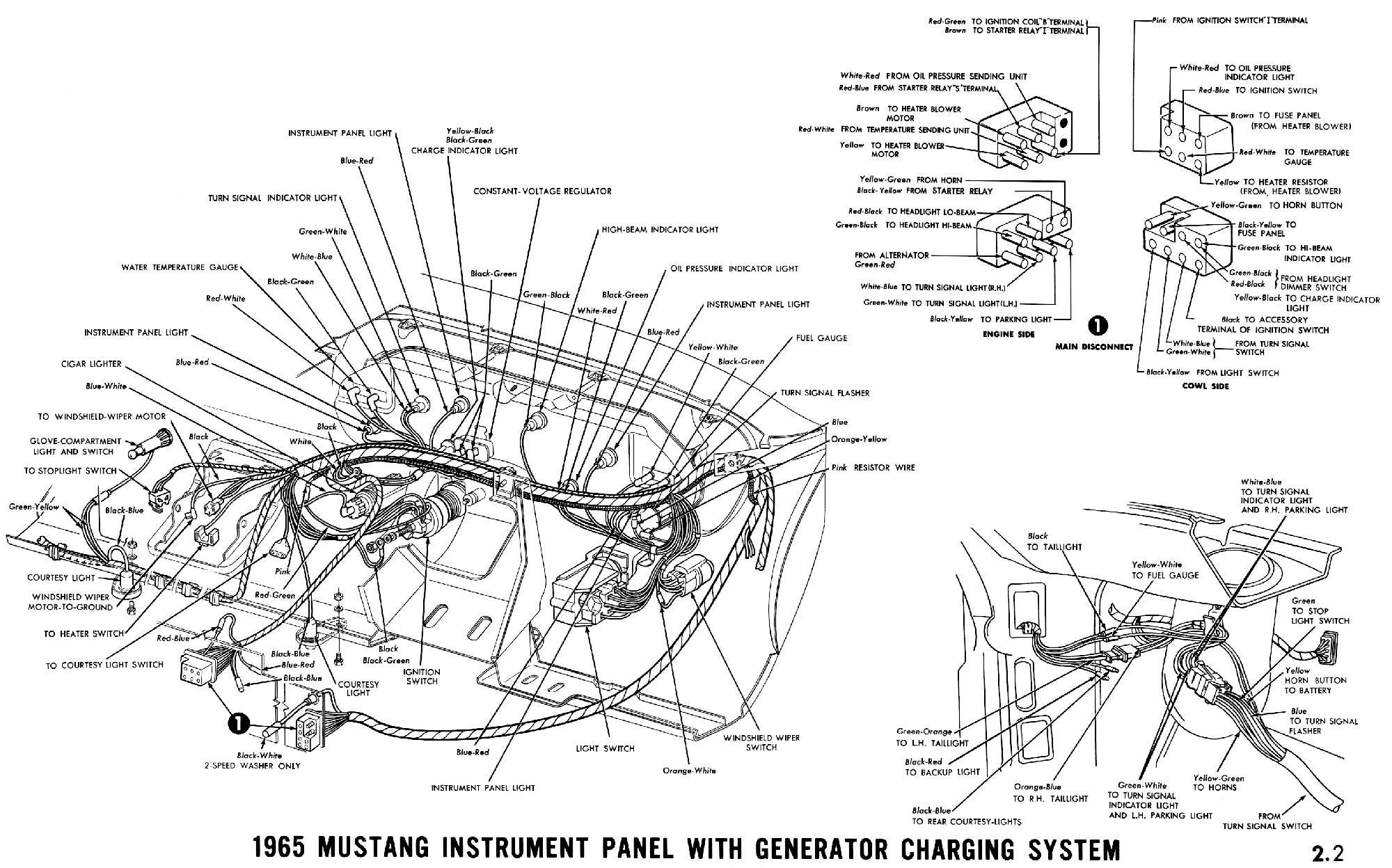 D Fuse Block Mustang Coupe B on wiring diagram ford mustang 1967