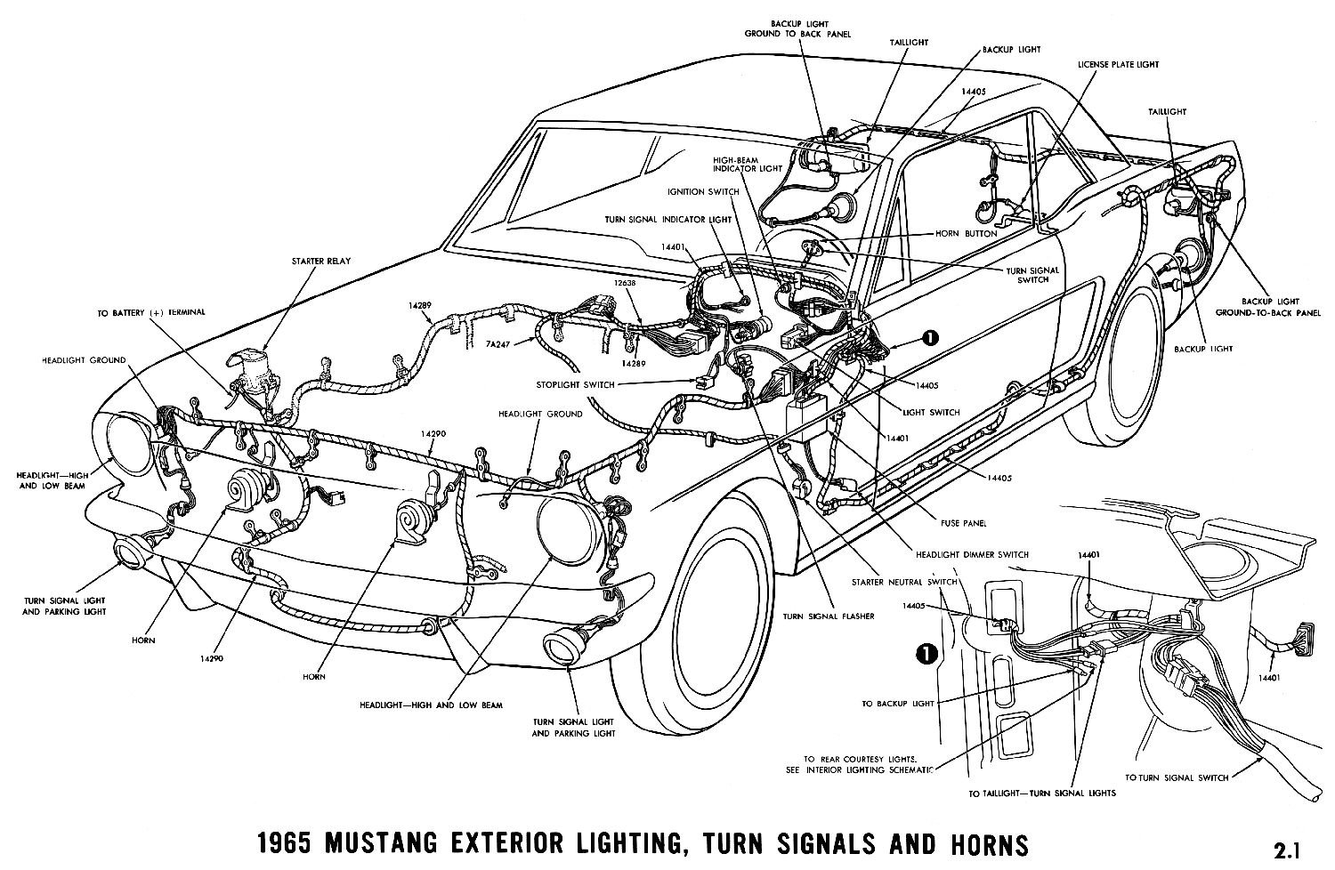 D Fuse Block Mustang Coupe D on 1968 mustang wiring diagram