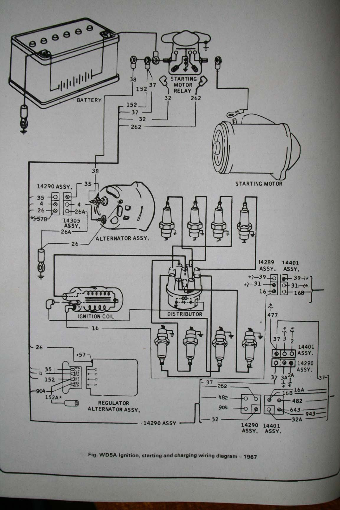 Voltage Regulator  Alt Wiring On 67 Coupe  Have A Wire I U0026 39 M Not Sure What To Do With
