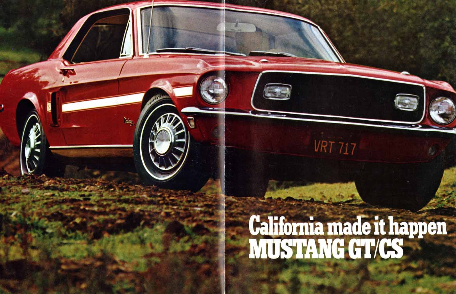 California Made it Happen: The History of the Mustang GT/CS ...