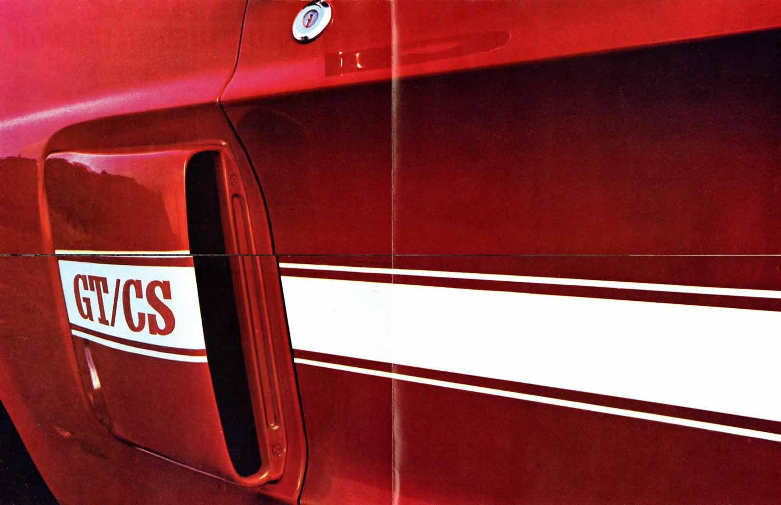 California Made it Happen: The History of the Mustang GT/CS
