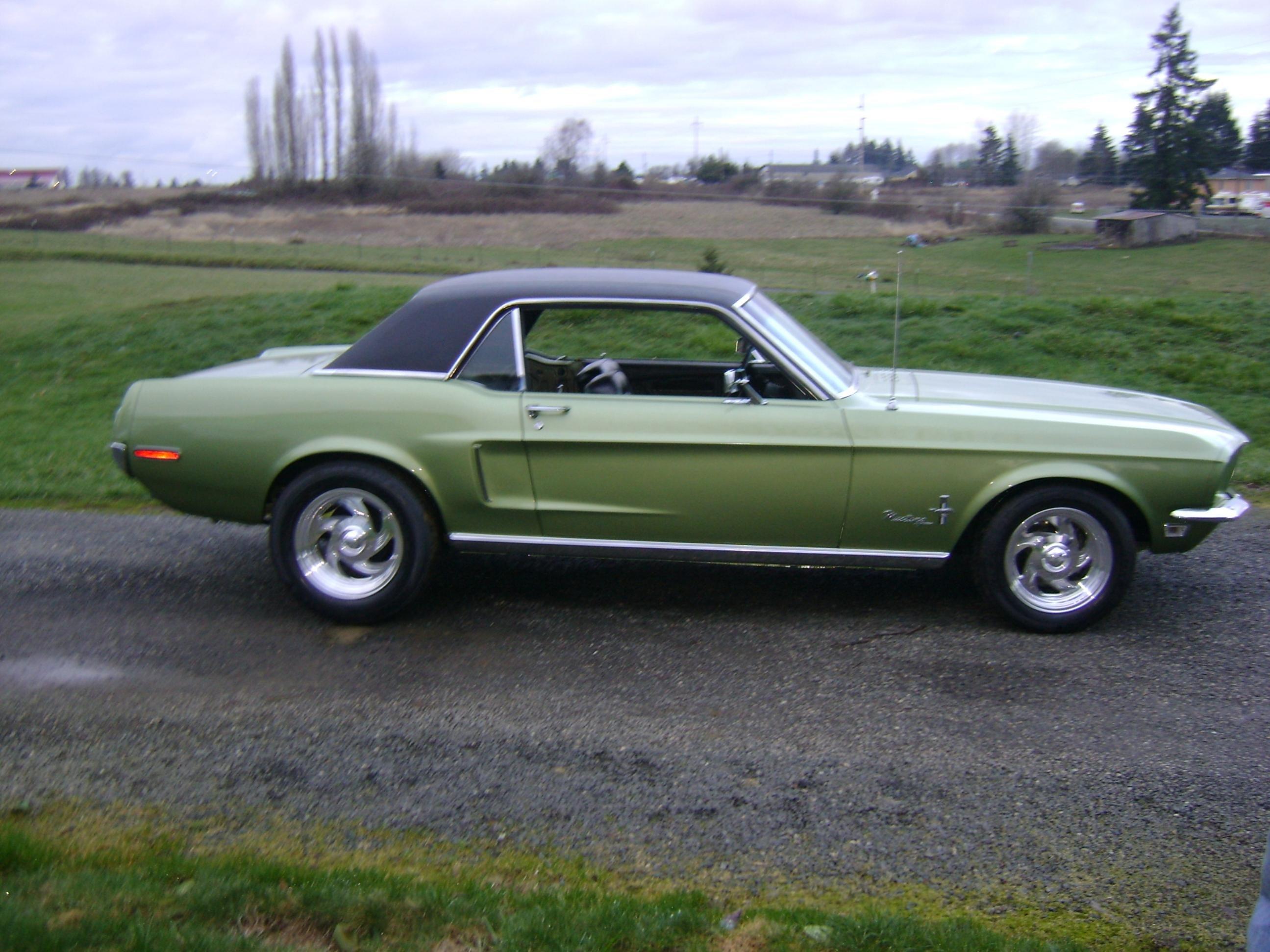 1968 Mustang Finished Restoration