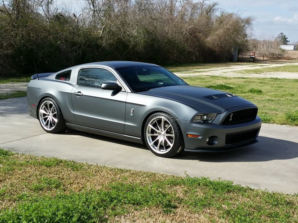 Plasti Dipped 2010 GT500 Hyper Black Candy Pearl - Ford ...