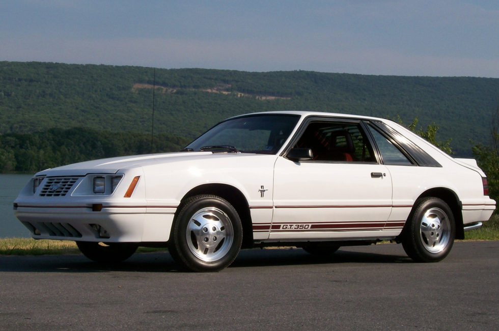 Throwback Thursday The 2 3l Mustang Gt350