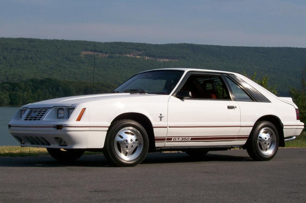 1984 mustang gt350 turbo