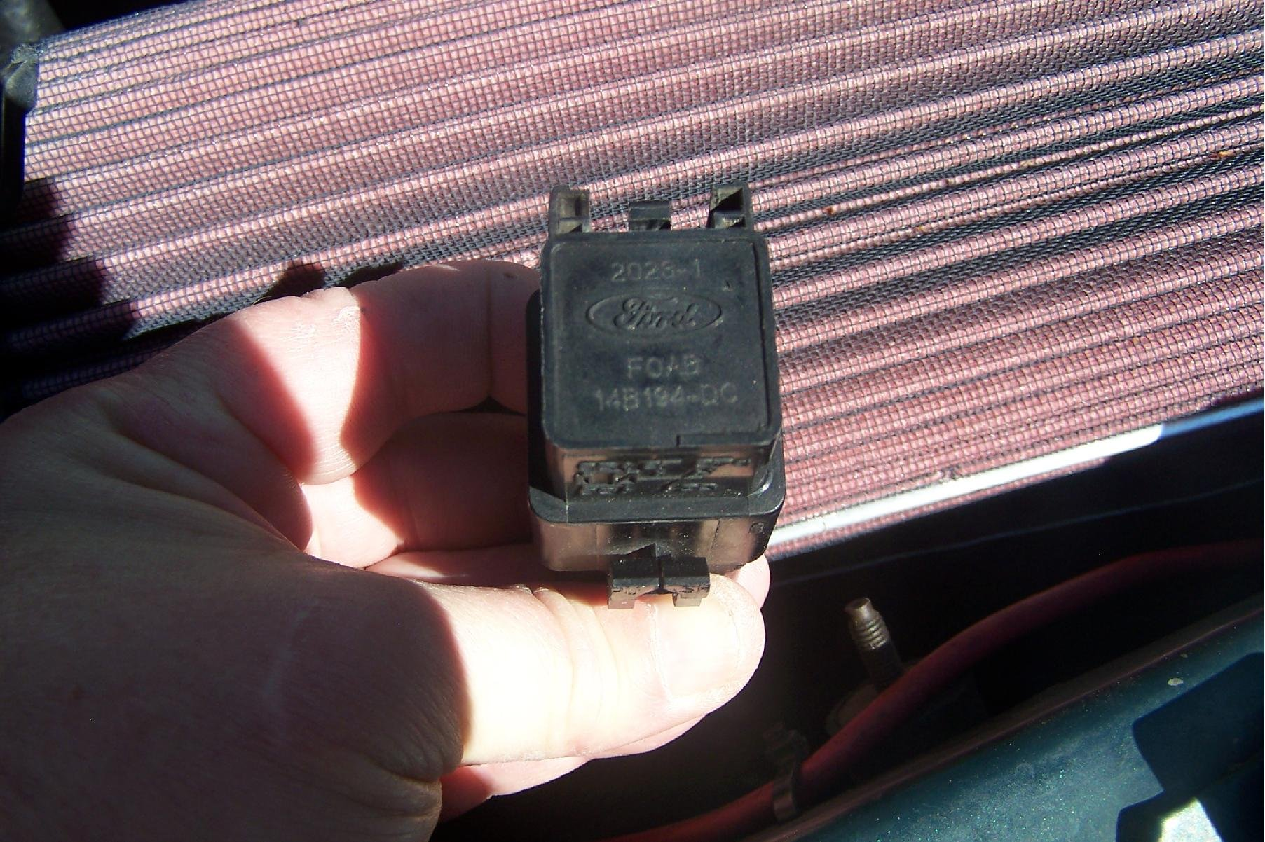 location of 1992 Mustang 50 fuel pump relay Ford Mustang Forum