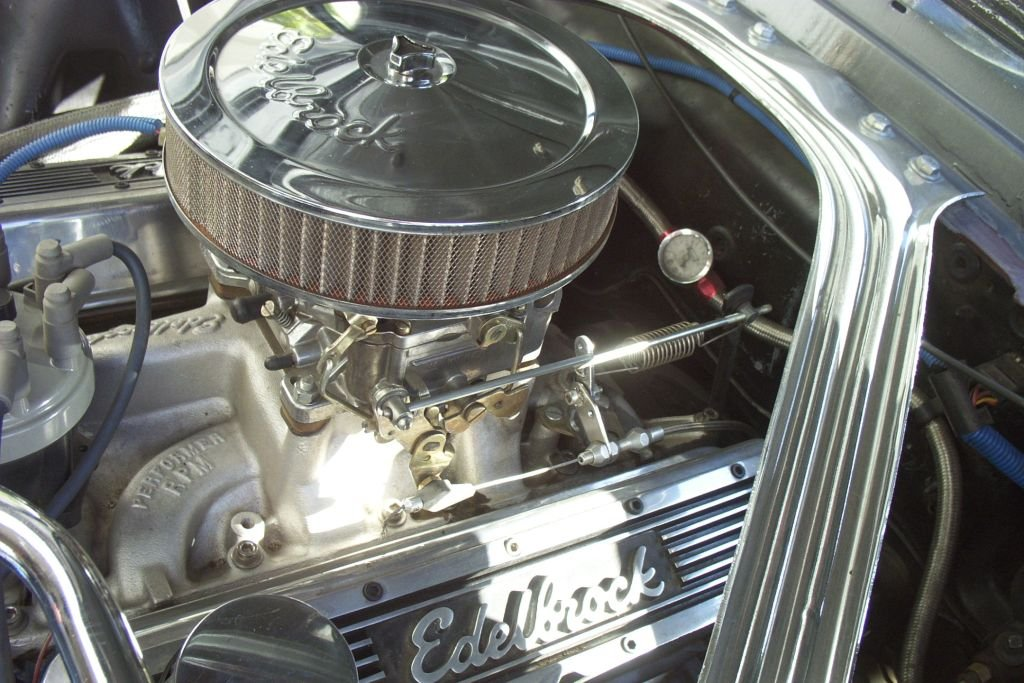 2005 Ford Mustang Convertible >> 1965 Mustang Throttle Linkage to Edelbrock 1406 Not ...