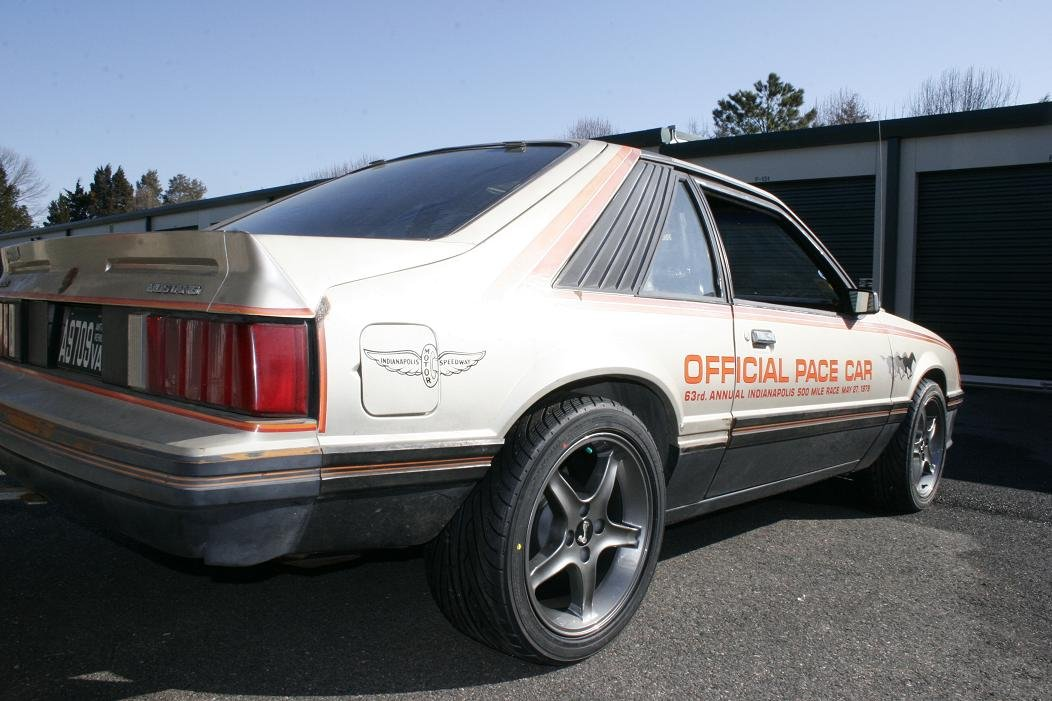 1979 Mustang Pace Car Hot New Suspension Wheels Amp Tires