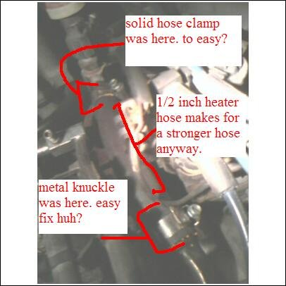 1998 mustang heater hose ruptured ford mustang forum rh allfordmustangs com Ford Expedition Heater Hose Diagram Ford Taurus Heater Hose Diagram